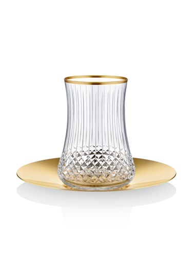 Koleksiyon Dervish Çay St 6'lı Elegant Prl Altın-Koleksiyon
